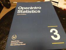 OpenIntro Statistics: Third Edition David M Diez