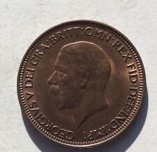 1932 George V Halfpenny UNC