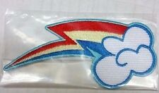 My Little Pony Rainbow Cutie Mark Dash Embroidered Sew On / Glue On Patch