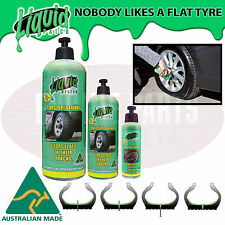 Tyre Repair Liquid Patch Instant Puncture Sealant car bike truck trailer caravan