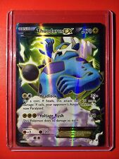 Pokemon Card - Full Art Thundurus EX XY Roaring Skies Set 98/108 Ultra Rare Holo