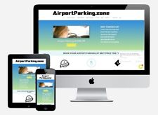 Domain Name For Sale AirportParking.zone - Business Domain Brand