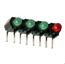 LED-Array 4-fach grün/rot, 3mmØ  LED's, liegend, Mentor: MEN RTZ 3400R , 2St.