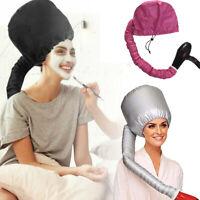 Portable Hair Drying Cap Soft Salon Cap Bonnet Hood Hat Blow Dryer Attachment