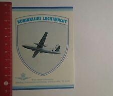 Autocollant/sticker: Koninklijke Luchtmacht (211116155)