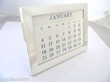 Date Engravable Vintage Rare Cool Gift Tiffany & Co Silver Perpetual Calendar