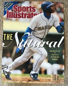 ORIGINAL 1990 Ken Griffey Jr. Poster 1st Sports Illustrated Cover Mariners RARE