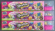 SHOPKINS Season 2 Lot of 3  MEGA PACK x3 (Total of 60 Shopkins)