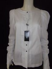 OXFORD Womens Long Sleeve White Shirt/Blouse size 12 - BNWT