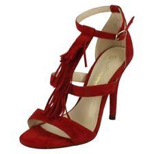 39 Scarpe da donna cinturini, cinturini alla caviglia rossi
