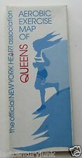 Aerobic Exercise Map Of Queens, New York 1982