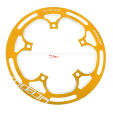 52T Folding Road Bike Bash Guard Alloy MTB Chainring Guard Chain Cover BCD130mm