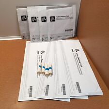 NEW Zebra Cleaning Card Kit 105999-007 for P100 Series Printers FOUR KITS (4)