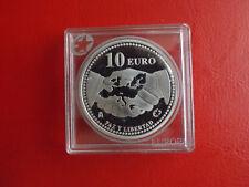 *Spanien 10 Euro 2005 Silber PP * 60 Jahre Frieden /Stern Serie(Schub38)