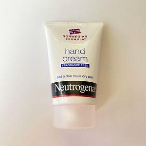 Neutrogena Norwegian Formula Hand Cream Original Fragrance Free 2 oz