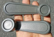 NEW PAIR Window Crank Lever Handle GRAY FOR Toyota Tacoma, T100, Pickup, Corolla