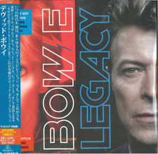 DAVID BOWIE-LEGACY-IMPORT 2 LP WITH JAPAN OBI J50
