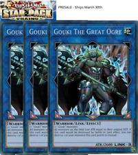 Gouki The Great Ogre X3 -STARFOIL- -SP18-EN034- Starpack Vrains