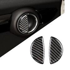 Carbon Fiber Car Door Handle Cover Trim Fit For Mini Cooper R55 R56 R60 R61 F55