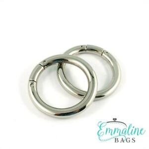 """Emmaline Bags GATE RINGS 1 1/4"""" (32mm) - for bags & crafts"""