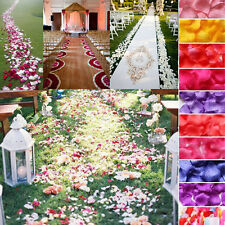 100-1000Pcs Silk Rose Petals Fake Flower Wedding Birthday Party Decor Confetti