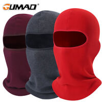 Motorcycle Balaclava Full Face Shield Sun Mask Winter Helmet Liner Ski Snowboard