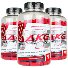 AAKG MEGA HARDCORE - Strong NO Nitric Oxide Booster Arginine & Citruline Malate