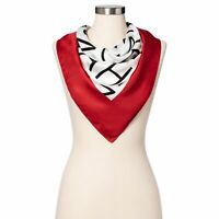 NWT Isaac Mizrahi for Target - Women's Printed Silk Scarf Red/White SOLD OUT