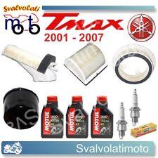 TAGLIANDO T-MAX 2001 3 LITRI MOTUL 300V + FILTRI ARIA + FILTRO OLIO + CANDELE