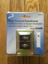 Heath Zenith Wired Door Bell Doorbell Chime Multi-Purpose Transformer 121AC-A