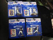 4 Different 1996 Starting Lineup MLB Action Figures Rodriguez Jeter Jones Clark