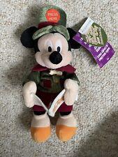 Disney World - Christmas Mickey Mouse Plush 2002