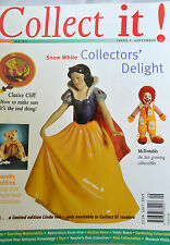 COLLECT IT! Mag Magazine Issue 3, September 1997 - Snow White, Clarice Cliff