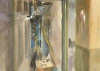 Howard J. Morgan (b.1949) - Signed Contemporary Watercolour, Interior Study