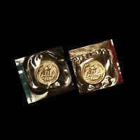 1973 P+D Washington Quarter Set ~ Uncirculated Coins in Original Mint Cello