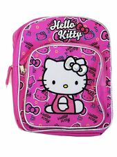 """Hello Kitty Pink Toddler Backpack 10"""" BackPack for Kids - BRAND NEW"""