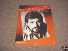 Tear Stained Letter by Richard Thompson Sheet Music Mnt