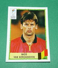 N°104 NICO VAN KERCKHOVEN BELGIQUE BELGIË PANINI FOOTBALL UEFA EURO 2000
