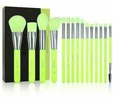 Makeup Brushes Set Powder Foundation Eyeshadow Professional Synthetic Hair Neon