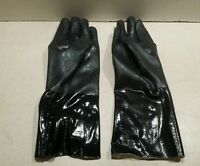 New Box of 12 Pairs Showa Best 3414 Chemical Resistant Gloves Size 9