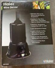 Haier Wine Server Model HW01ASS Black Single Bottle Cooler Chiller New