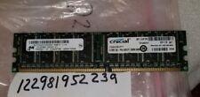512MB DDR1 DDR PC  PC3200U DDR1-400 400MHZ  184PIN SINGLE RANK NON-ECC 1RX8 64x8