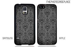 Disney Haunted Mansion Wallpaper Phone Case for Apple, Samsung, LG, Google, iPod
