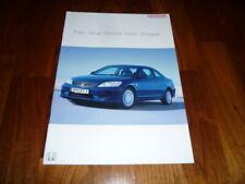 Honda Civic Coupe Prospekt 12/2003