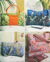 Handbag Purse Wallet McCalls M5066 Fashion Accessories Pattern New Uncut