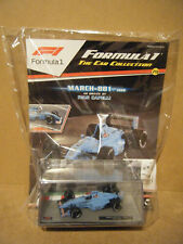"Panini F1 collection ""MARCH 881-1988"". Ivan Capelli. Scale 1:43. New & Sealed"