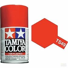 Tamiya TS-49 BRIGHT RED Spray Paint Can 3 oz 100ml #85036 Mid America Raceway
