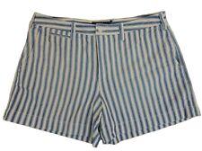$89 Polo Ralph Lauren Nautical Casual Striped Beach Golf Cotton Mini Shorts 14