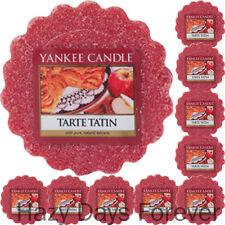 10 Torte di cera Yankee Candle Tarte Tatin si scioglie speziato TORTA DI MELE Cibo Cucina