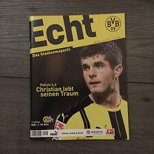 BVB@ BORUSSIA DORTMUND*Stadionmagazin ECHT*Heft Nr. 125*BVB-Köln@Pulisic